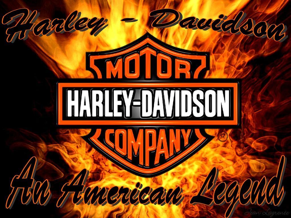 Logo Harley Davidson HD Wallpaper