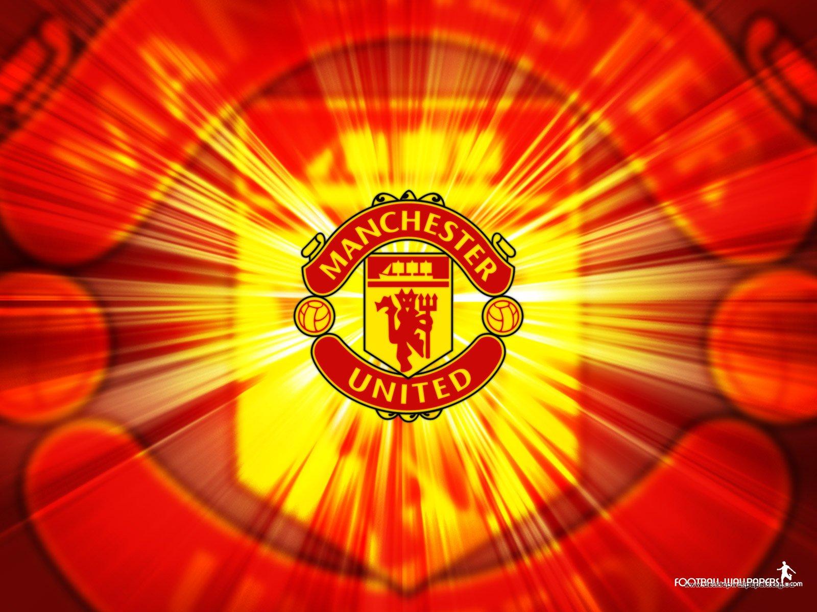 Manchester United Logo HD Wallpaper For Desktop
