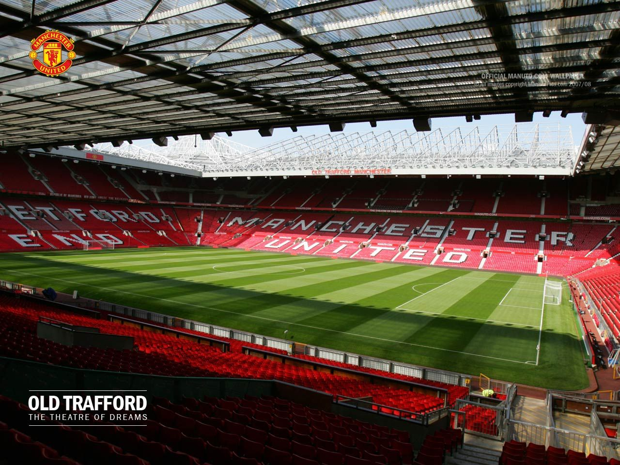 Manchester United Old Trafford Stadium   Wallpup.com
