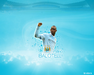 Mario Balotelli Manchester City 2012-2013 Wallpaper
