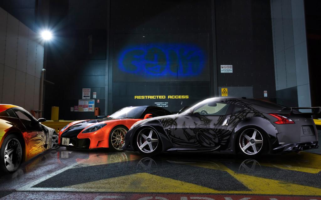 Mazda Rx7 Tokio Drift