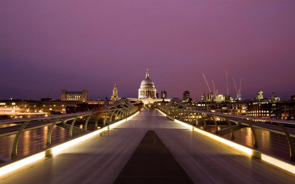 Millennium Bridge London Wallpaper