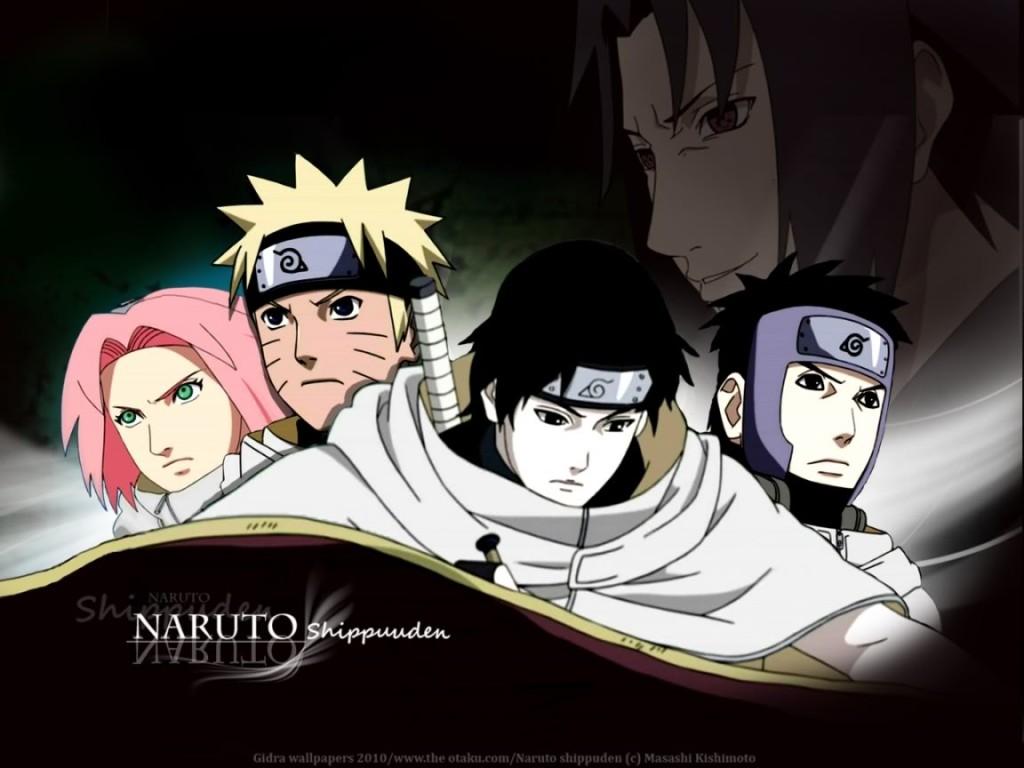 Naruto,Azuma,Sakura,Sai Wallpaper