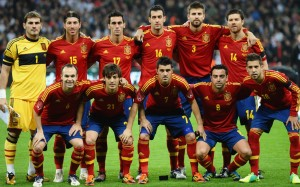 National Team Of Spain 2013