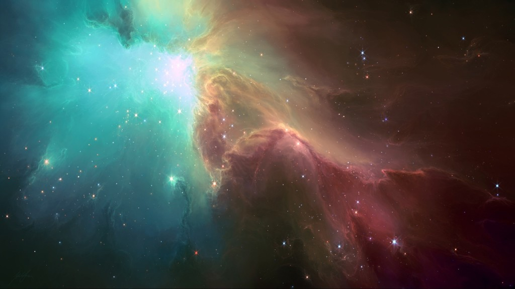 Nebulae Sky Wallpaper