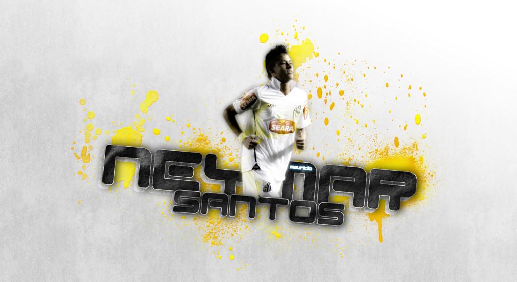 Neymar santos wallpaper 2013