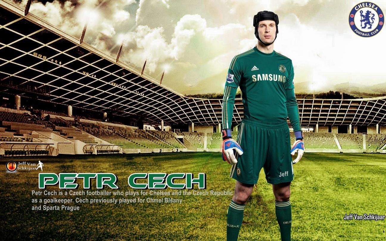 Petr Cech Chelsea 2012-2013 Wallpaper
