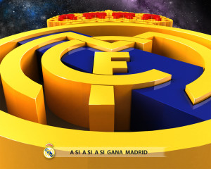 Real Madrid 3D Logo