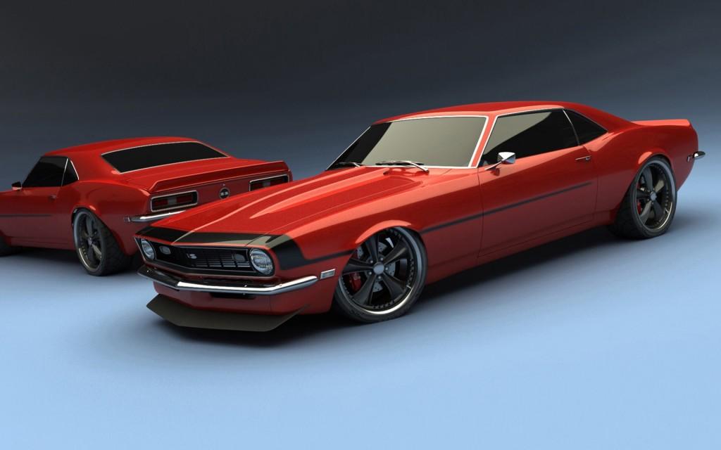Red Chevrolet Camaro Wallpaper