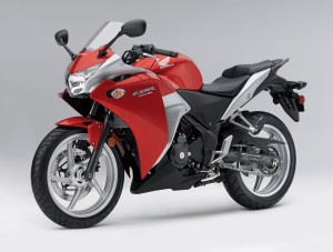 Red honda cbr 250 wallpaper