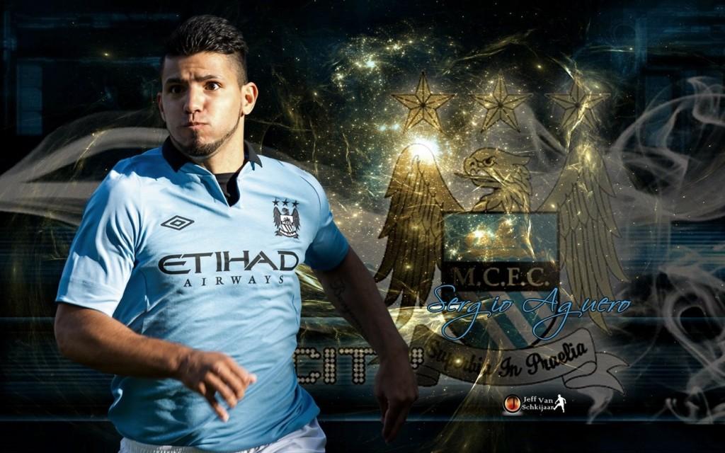 Sergio Aguero Manchester City 2012-2013