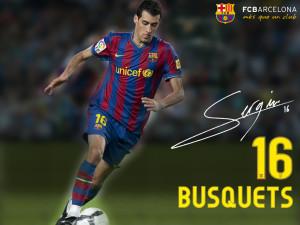 Sergio Busquets FC Barcelona 2013