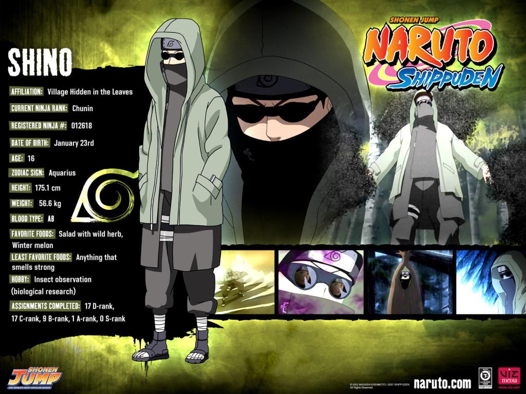Shino Naruto Shippuden Wallpaper