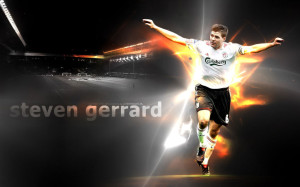 Steven George Gerrard England 2013 Wallpaper