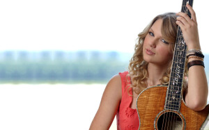 Taylor Swift Guitar Wallpaper 2013