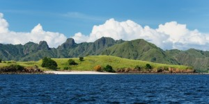 The Island of Komodo In Flores Indonesia