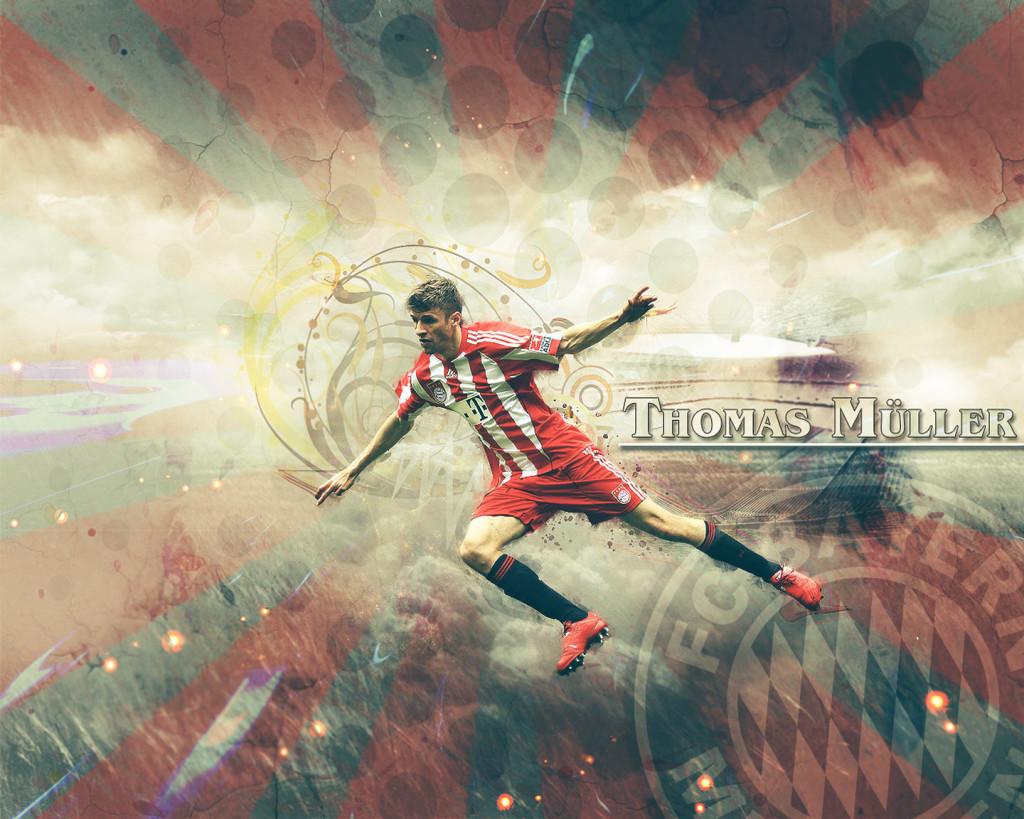 Thomas Muller FC Bayern Munich