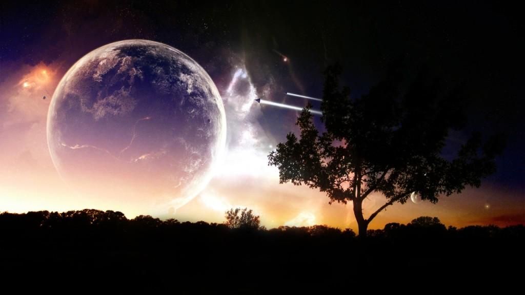 Universe Voyage Wallpaper