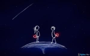 Valentine Cartoon Wallpaper