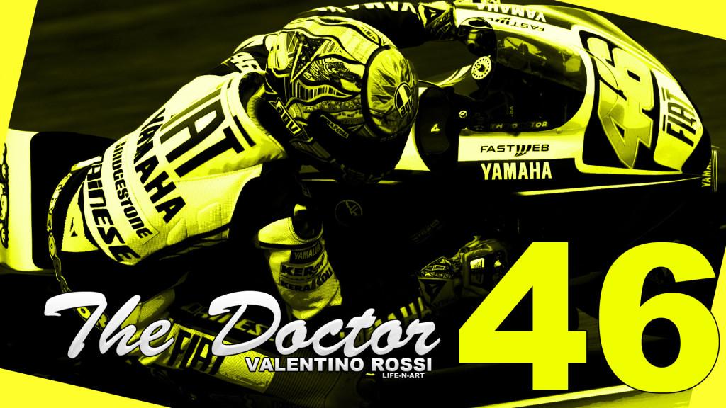 Valentino Rossi Logo Desktop Wallpape
