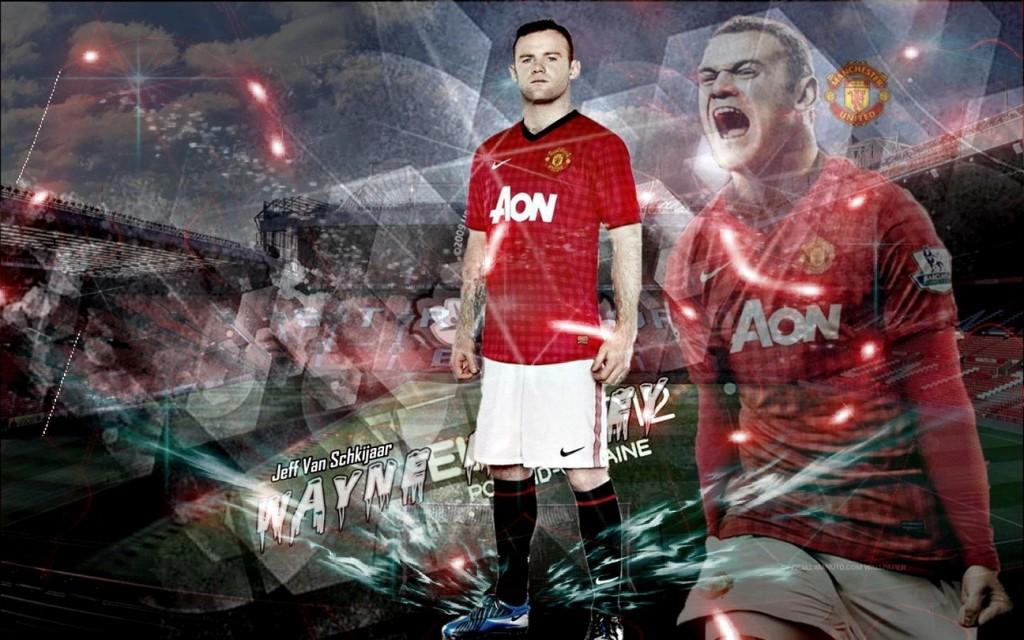 Wayne Ronney Man Utd New Kit 2012-2013