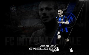 Wesley Sneijder Internazionale Milan 2012-2013 Wallpaper