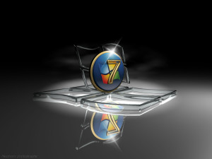 Windows 7 HD 3D wallpaper