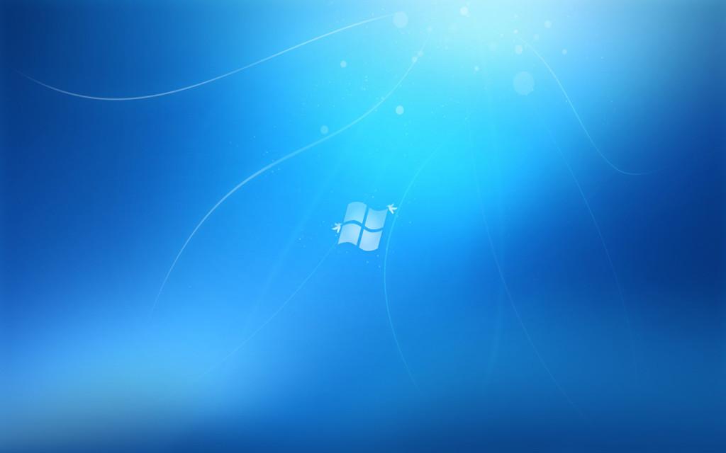 Windows 7 Style Wallpaper