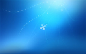 Windows 7 Style Wallpaper