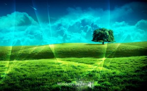 Windows 7 wallpaper wde