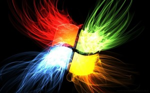 Windows 8 Flame Wallpaper