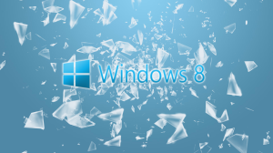 Windows 8 Glass Wallpaper