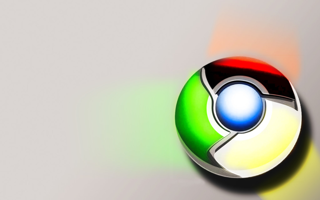 Google Chrome 3D Wallpaper