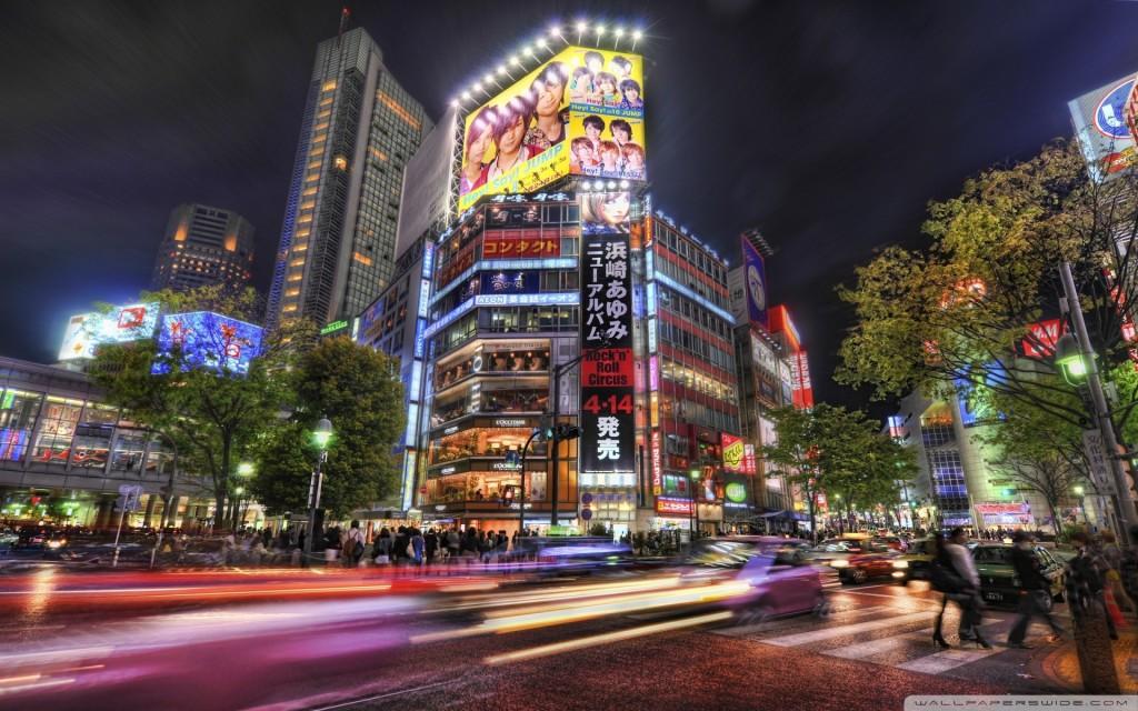 streets of tokyo wallpaper