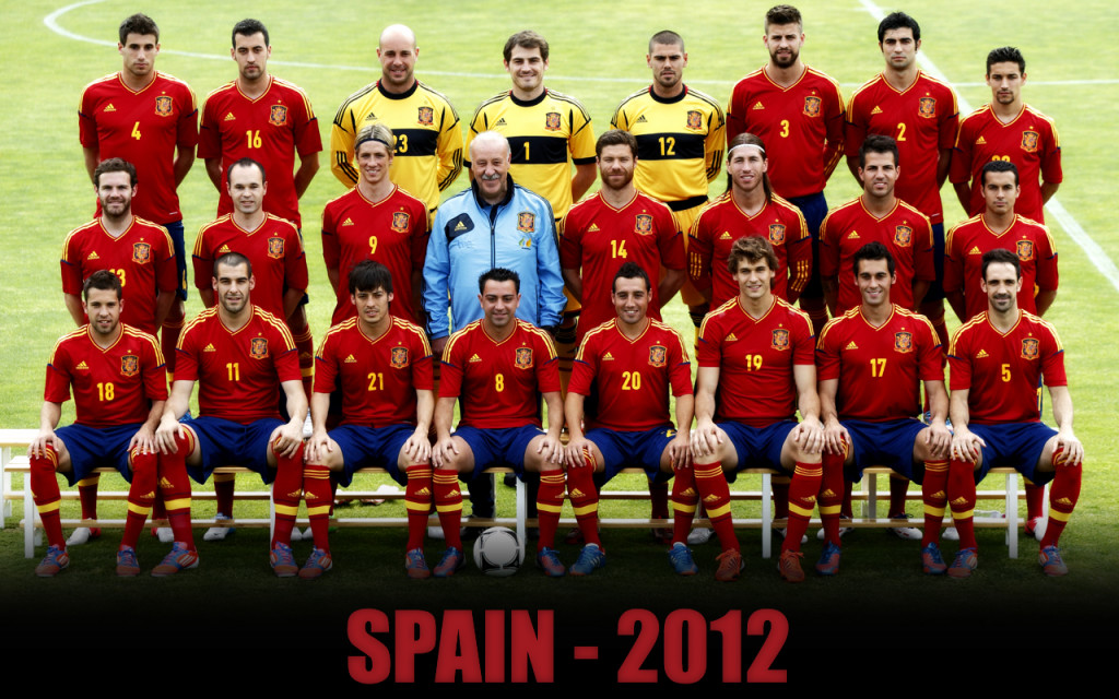 team national spain 2012