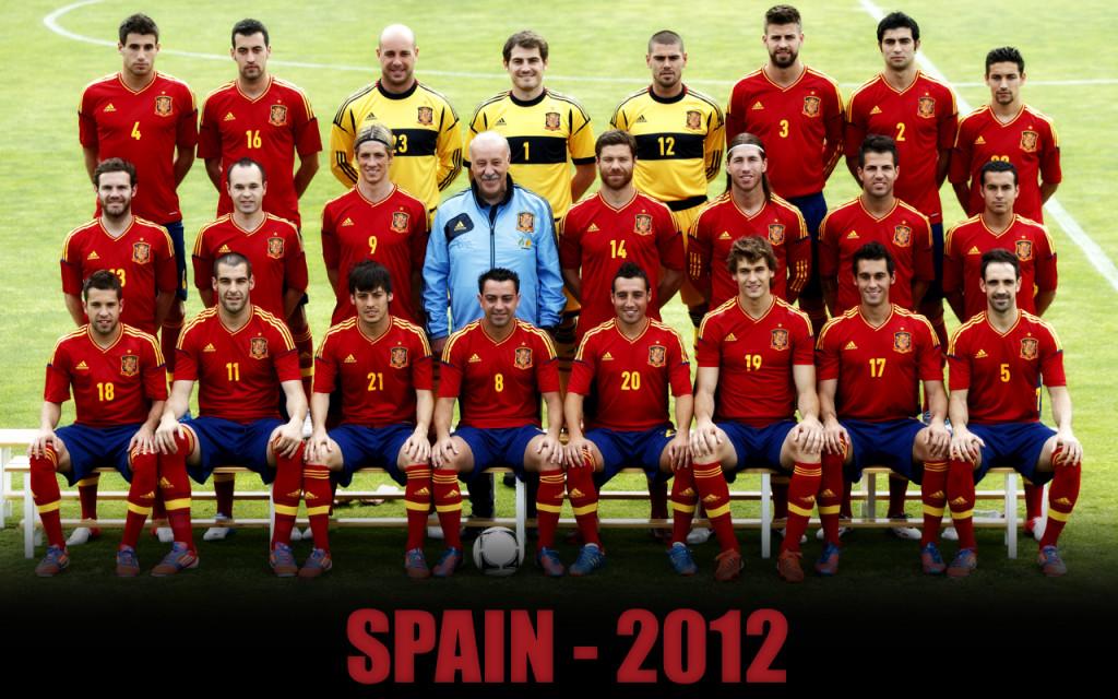 team national spain 2012