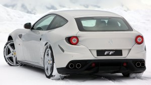 2012 Ferrari FF Silver Wallpapers