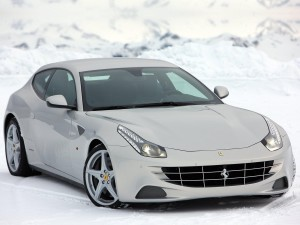 2012 Ferrari FF white HD Wallpapers
