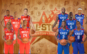2013 NBA All Star Starters