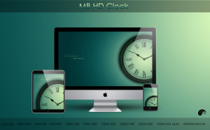 Apple Clock Wallpapers