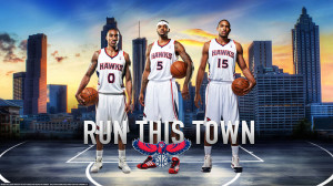 Atlanta Hawks 2013 Big 3