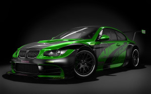 BMW M3 GTR Black Wallpapers