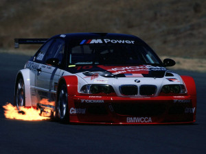BMW M3 GTR Side Wallpapers