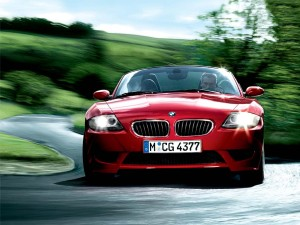 BMW Z4 Red Wallpaper