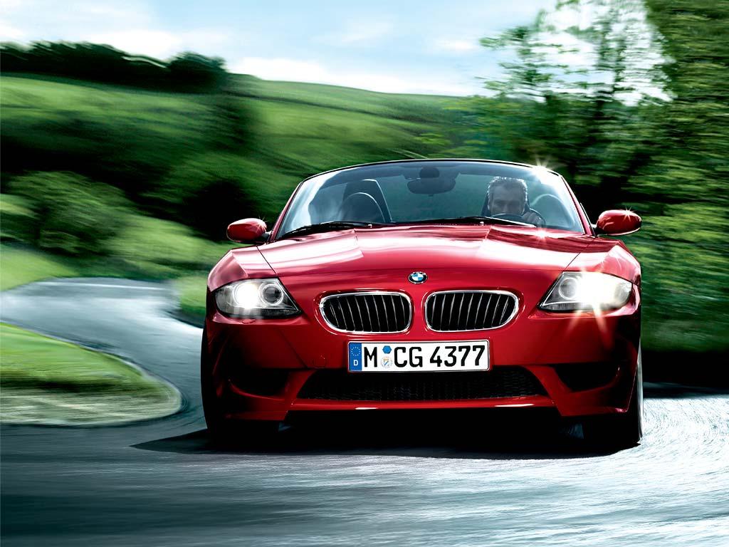 BMW Z4 Red Wallpaper