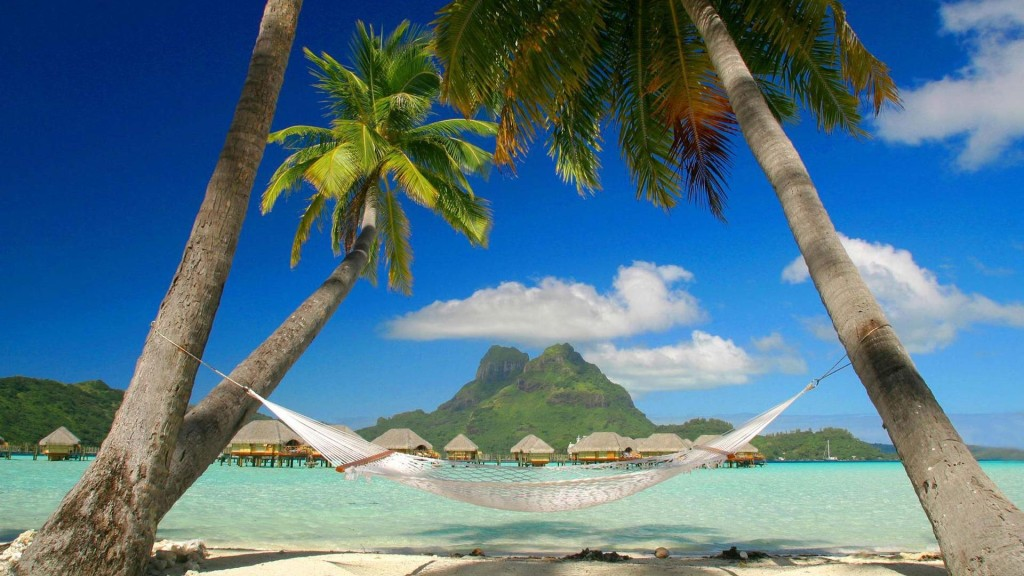 Beach Nature HD Wallpaper