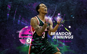 Brandon Jennings 2013