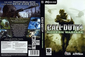 Call of Duty Modern Warfare 4 CD Cover