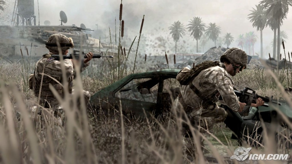 Call of Duty Modern Warfare 4 HD Wallpaper