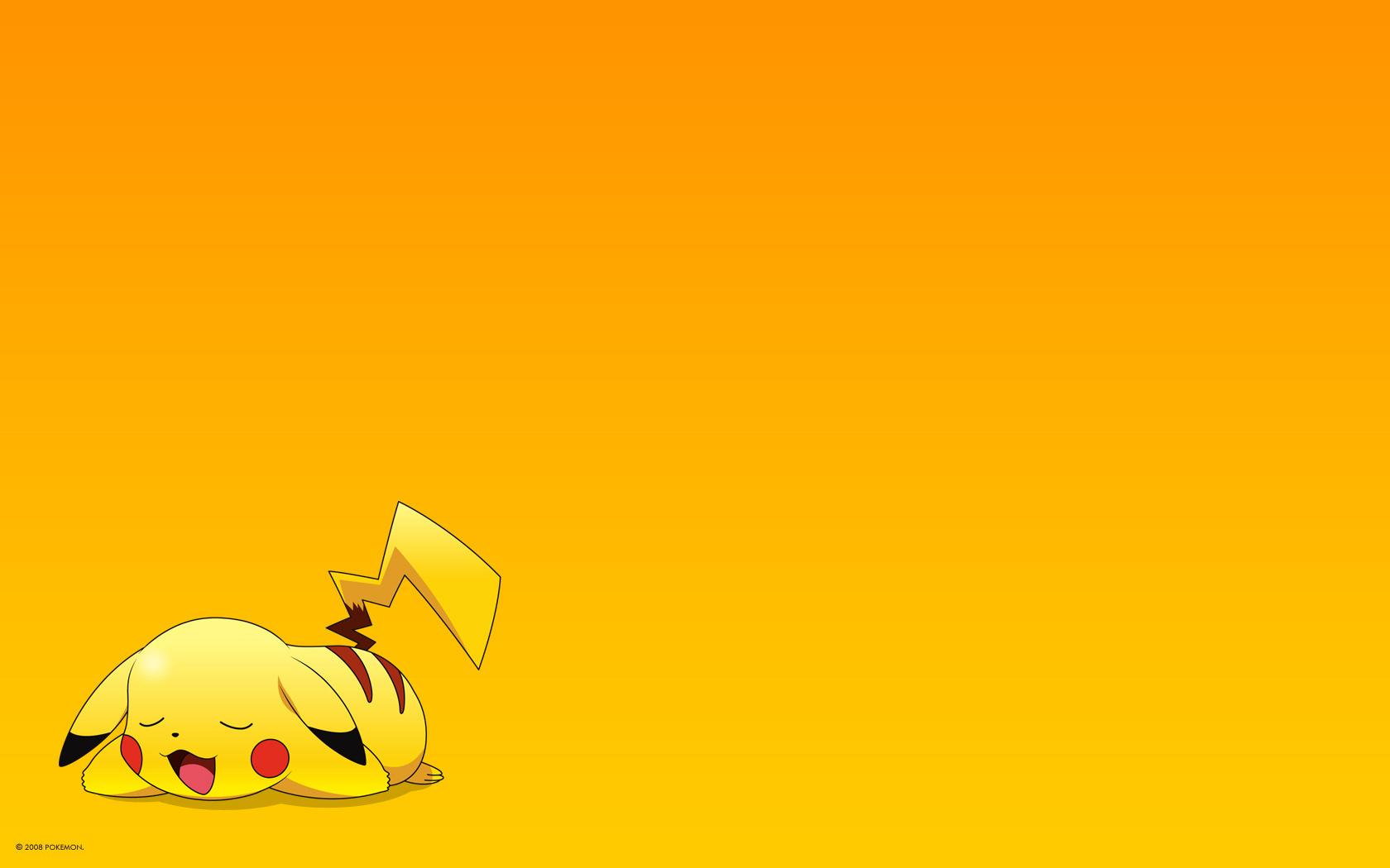 Cute Pikachu Wallpaper...